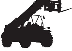 Who tops the league in one of Europe's biggest telehandler markets?