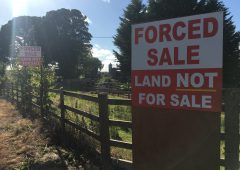 'Vulture fund' farmland sale lot removed from auction