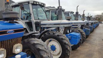 Tractor fanatics polish up the 'silver-ware' in Kilkenny