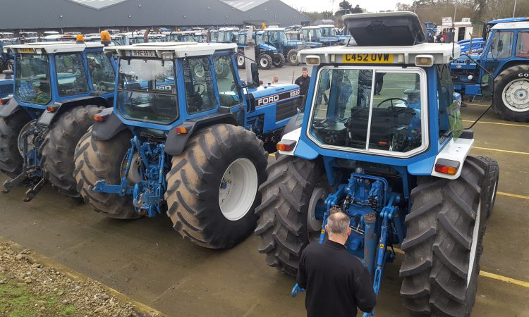 Flurry of fine Ford tractors brings nostalgic end to 2018