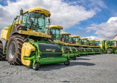 Krone revenue tops €2 billion…in a record year