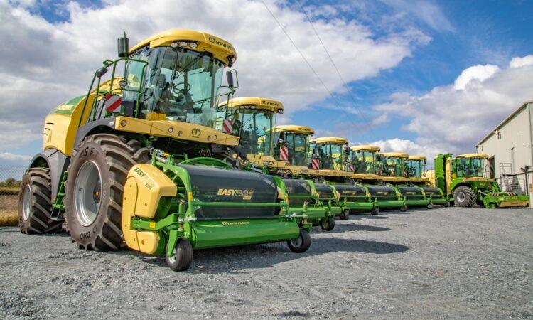Krone revenue tops €2 billion…in a record year