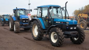 Auction report: CNH 'family' tractors change hands at November sale
