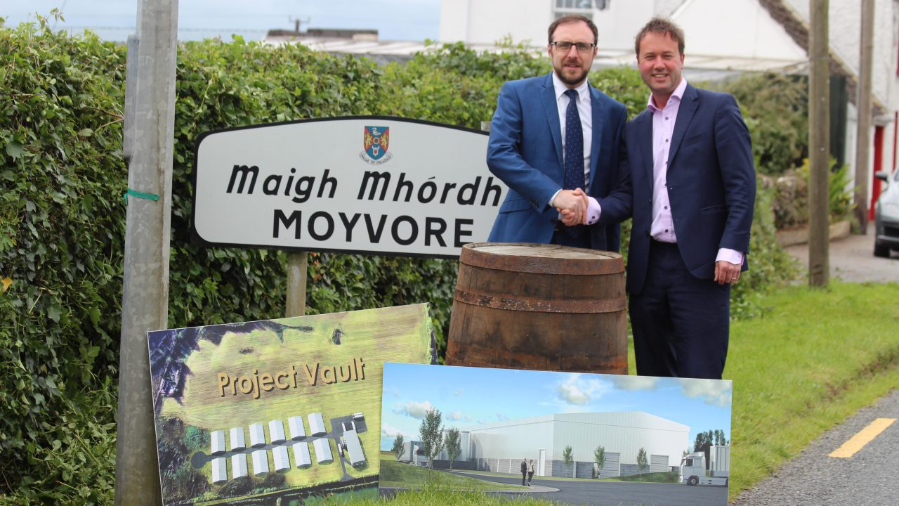 Moyvore €140m warehouses to make 'real difference'