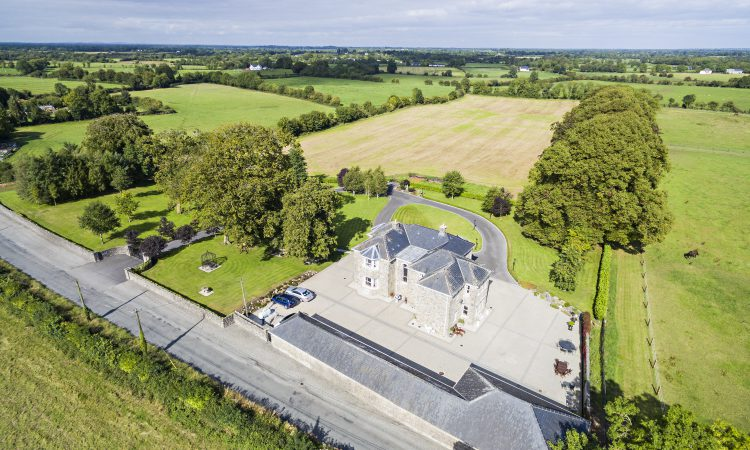 Co. Meath property provides 12ac and 5 stables with road access