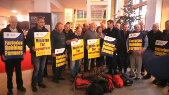 IFA stages sit-in at Ag House over carcass trim case