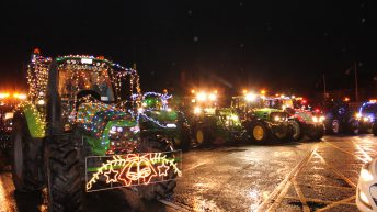 Ballinrobe Christmas lights tractor parade draws 3,000