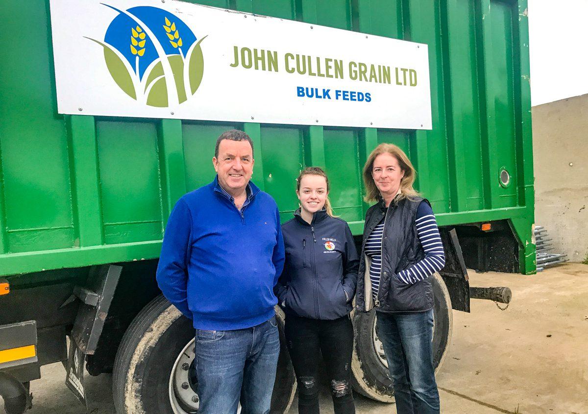 Tillage focus: From field to feed mill – John Cullen Grain is an impressive sight