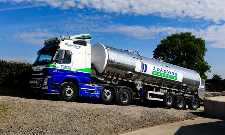 Lakeland pulls back milk price for March