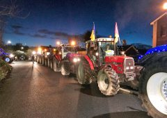 Video: Festive farmers fundraise with fairylights
