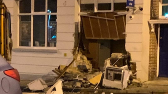 Digger used to rip ATM from wall in Monaghan