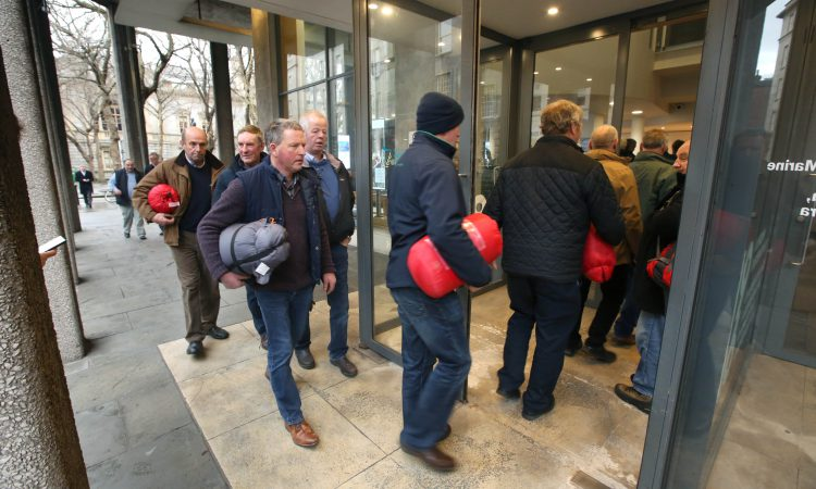Carcass crunch: Farmers prepared to spend Christmas in Ag House