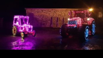 '50 Shades of Hay' gears up for Christmas tractor parade