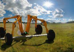 """""""字段""""测试:农业机器人在农业试验。通过了考验"""