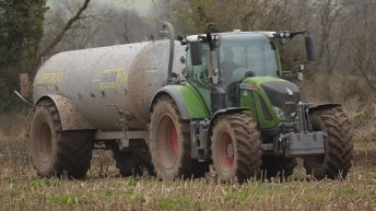 Slurry spreading: Buffer zones wider for first 2 weeks