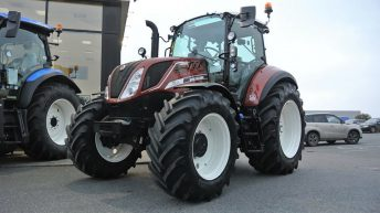 Brand new 'Fiat' tractor lands in Ireland…in the midlands