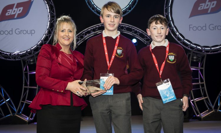 Cork students awarded ABP safety prize at BT Young Scientist 2019