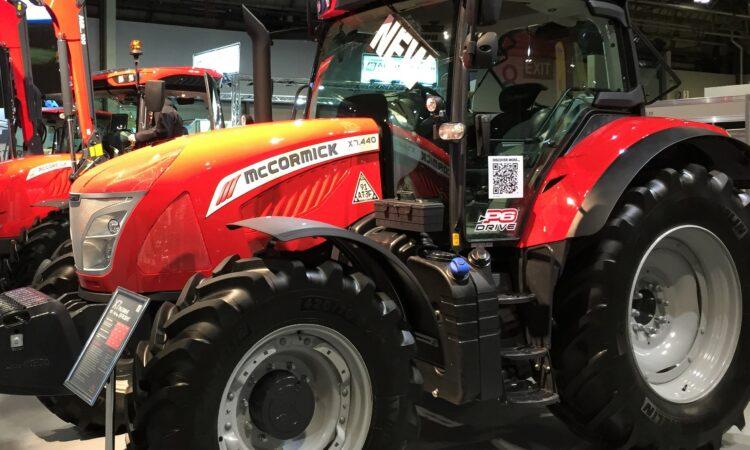 LAMMA 2019: New 4-cylinder McCormick tractors get a 'boost'