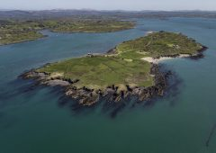 Video: 157ac property in Co. Cork offers farm facilities…on a private island