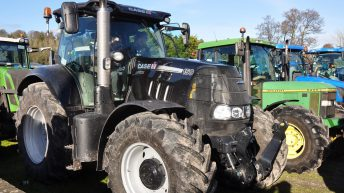 Mustering muscle for 'colourful' Bandon tractor run