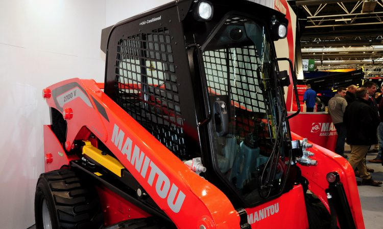 LAMMA 2019: 'New-look' Manitou skid-steer unveiled to show-goers