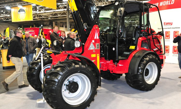 LAMMA 2019: Manitou previews new, smaller telescopic loader