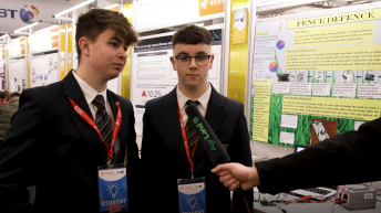 Video: 'Agri Einsteins' under microscope at BT Young Scientist 2019