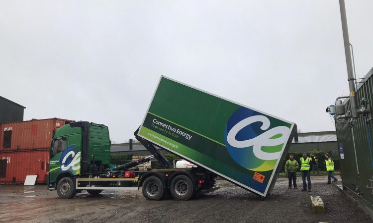 First commercial delivery of biomethane leaves Nurney today
