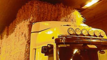 Oversized load of straw causes over €100,000 damage to Limerick Tunnel