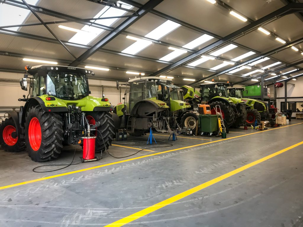 Buildings focus: Behind the scenes of a new machinery