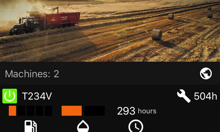Check your tractor's fuel level and faults…on your phone