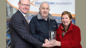 Dairy farmer wins €2,000 prize for farm safety
