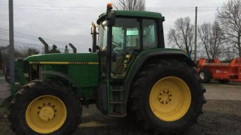 John Deere tractor stolen from yard