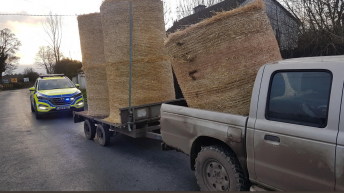 Unsecure bales tip of the iceberg for one driver