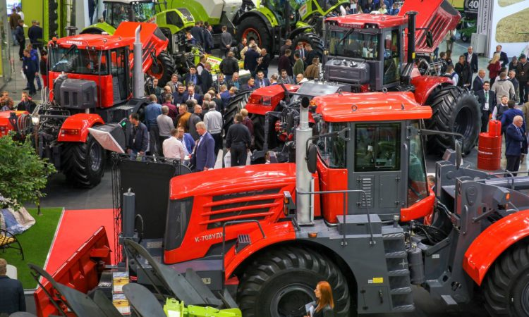Kirovets built 2,400 tractors last year. How did 1 end up in Ireland?