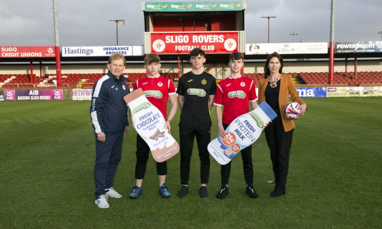 Gold backing 'Red': Connacht Gold extends Sligo Rovers sponsorship