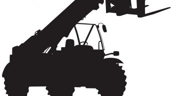 Which brand dominates the UK telehandler market?