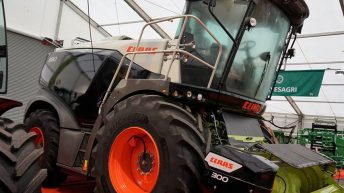 Flagship forager arrives at FTMTA Farm Machinery Show…with a surprise