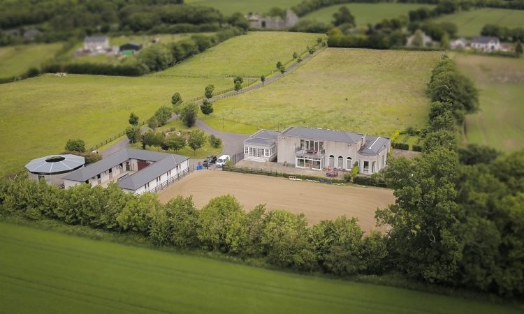 Video: Co. Carlow property has 15ac shared among 4 paddocks, a residence and yard
