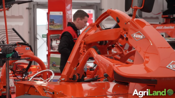 What is Kuhn showcasing at the FTMTA Farm Machinery Show?