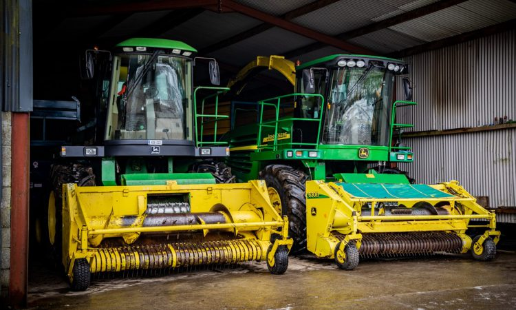 Pics: Silage kit prepped for big contracting machinery auction in Co. Roscommon
