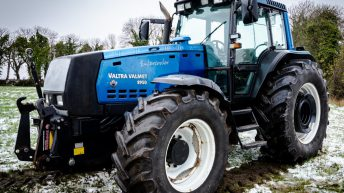 Auction report: €55,000 (all in) for a 2002 Valtra Valmet 8950 in Co. Roscommon