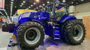 New Holland ramps up with revamped Genesis T8 tractor