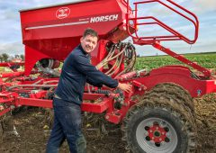 Tillage focus: The drills are out…sowing beans in Co. Kildare