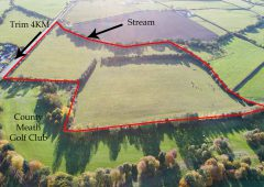 20ac of Meath land with road frontage to go for auction