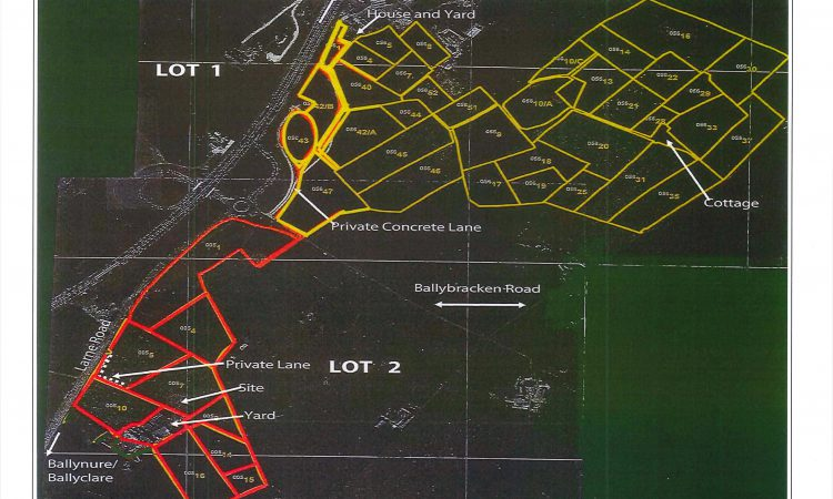Video: 118ac holding 'situated in a prime farming district' for sale in lots