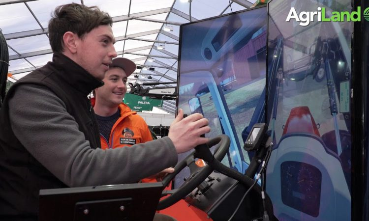 Video: Getting to grips with a 'virtual' front-end loader in Punchestown