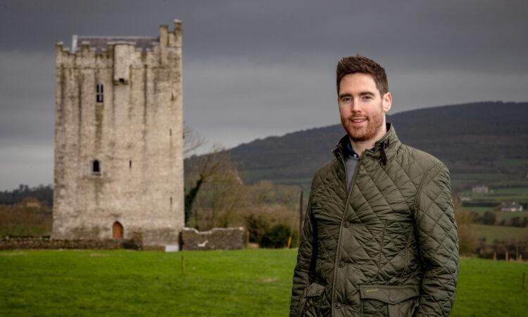 Kilkenny farmer's son earns his keep with castle restoration