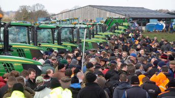 Pics: Huge John Deere tractor clearance auction pulls the punters