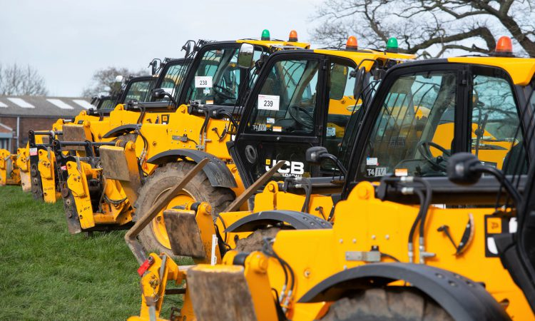 Auction report: Watching a tally of telehandlers like a 'hawk'